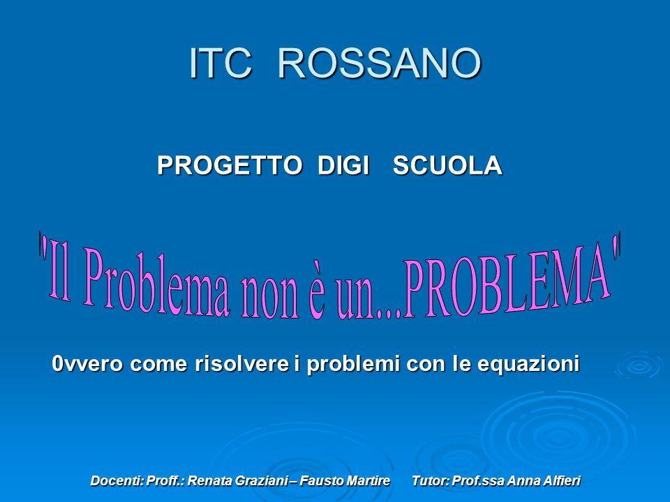 Il Problema non è un...PROBLEMA