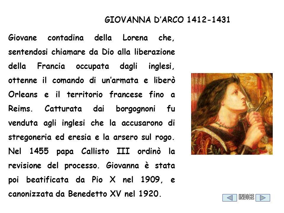 GIOVANNA D'ARCO 1412-1431