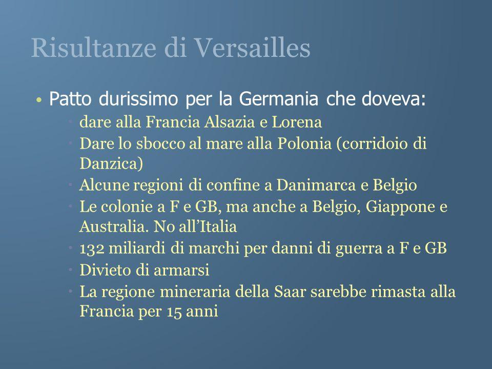 Risultanze di Versailles
