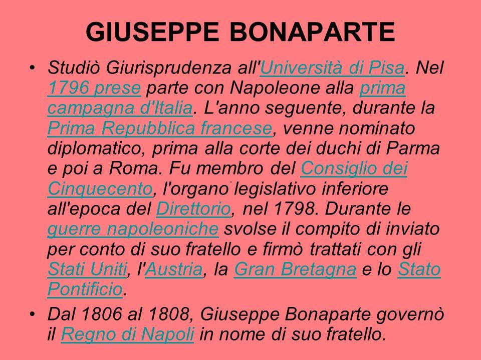 GIUSEPPE BONAPARTE