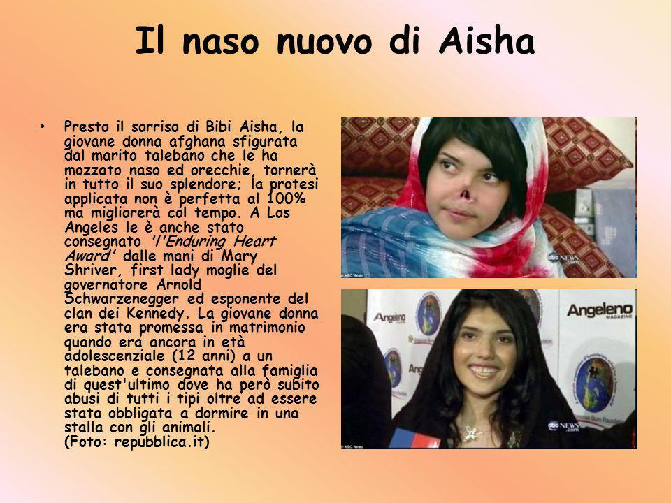 Il naso nuovo di Aisha