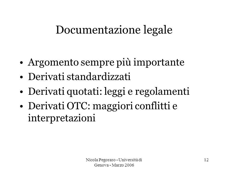 Documentazione legale
