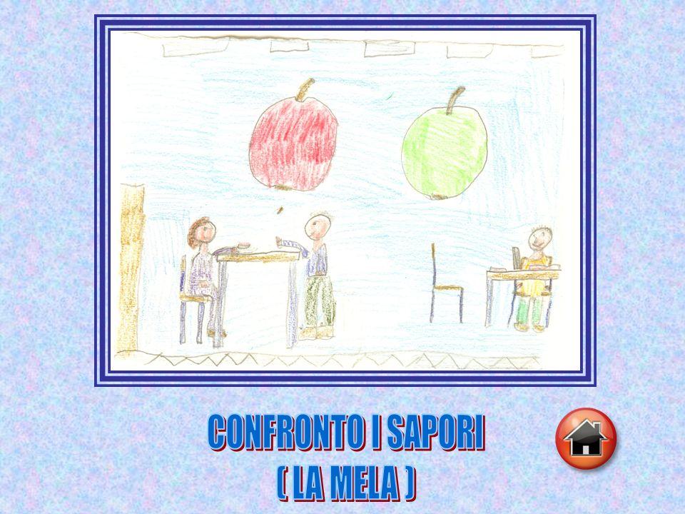 CONFRONTO I SAPORI ( LA MELA )