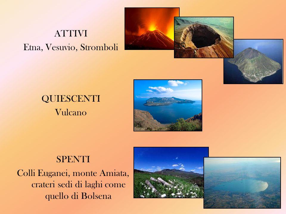 Etna, Vesuvio, Stromboli