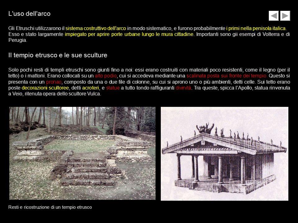Il tempio etrusco e le sue sculture