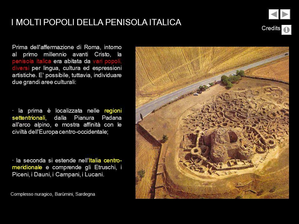 I MOLTI POPOLI DELLA PENISOLA ITALICA