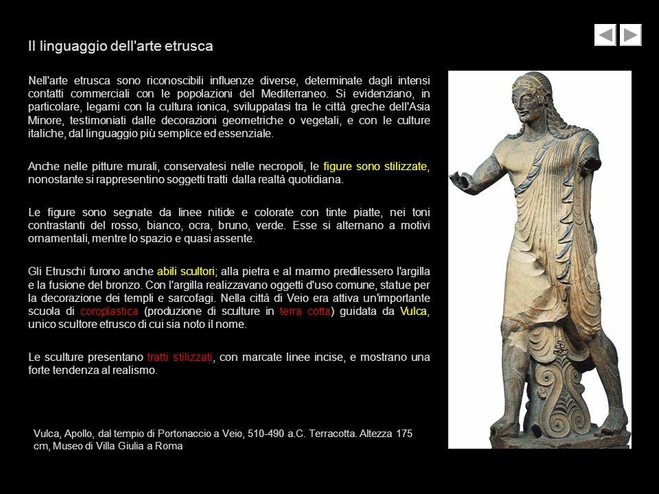 Il linguaggio dell arte etrusca