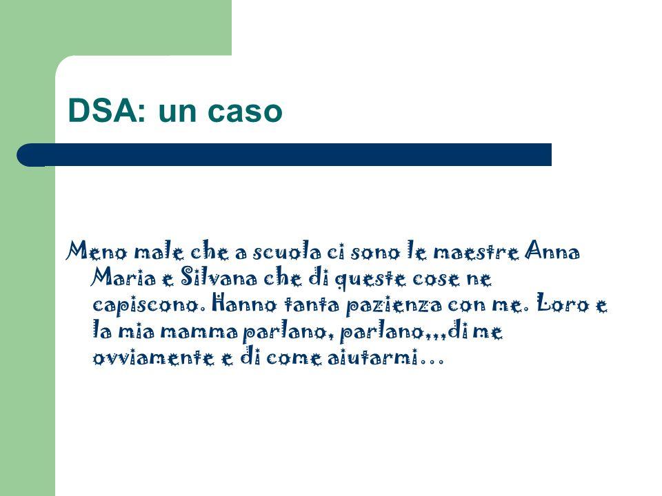 DSA: un caso