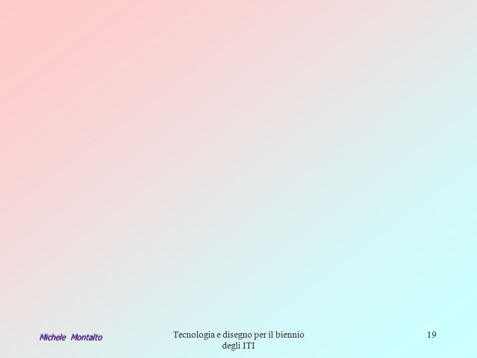 Tecnologia e disegno per il biennio degli ITI