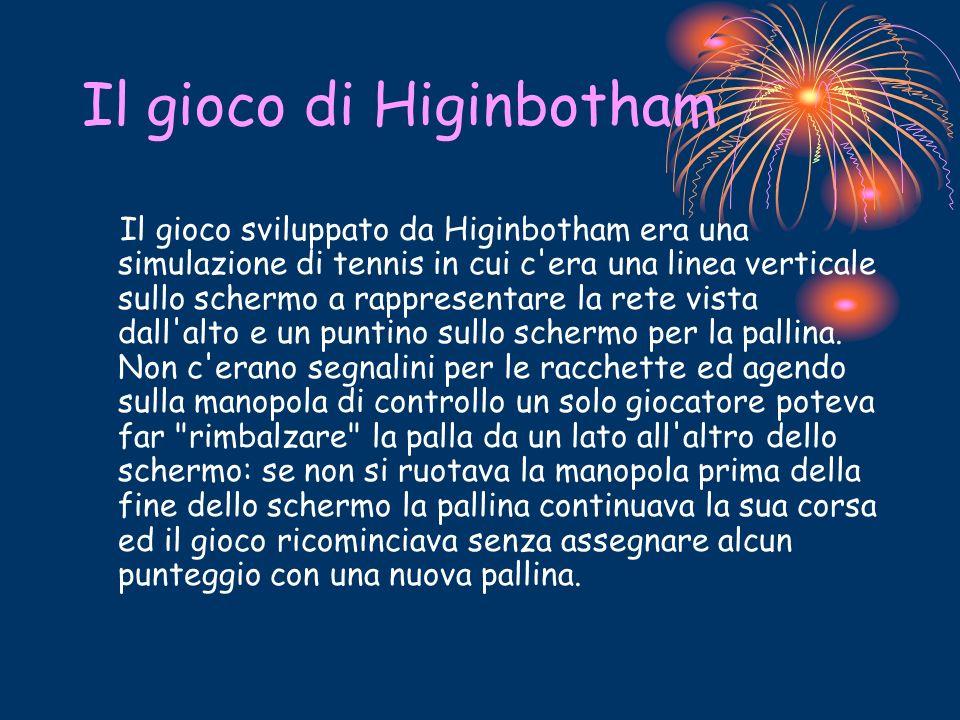 Il gioco di Higinbotham