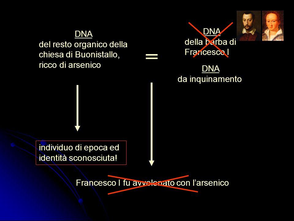 = DNA DNA della barba di Francesco I