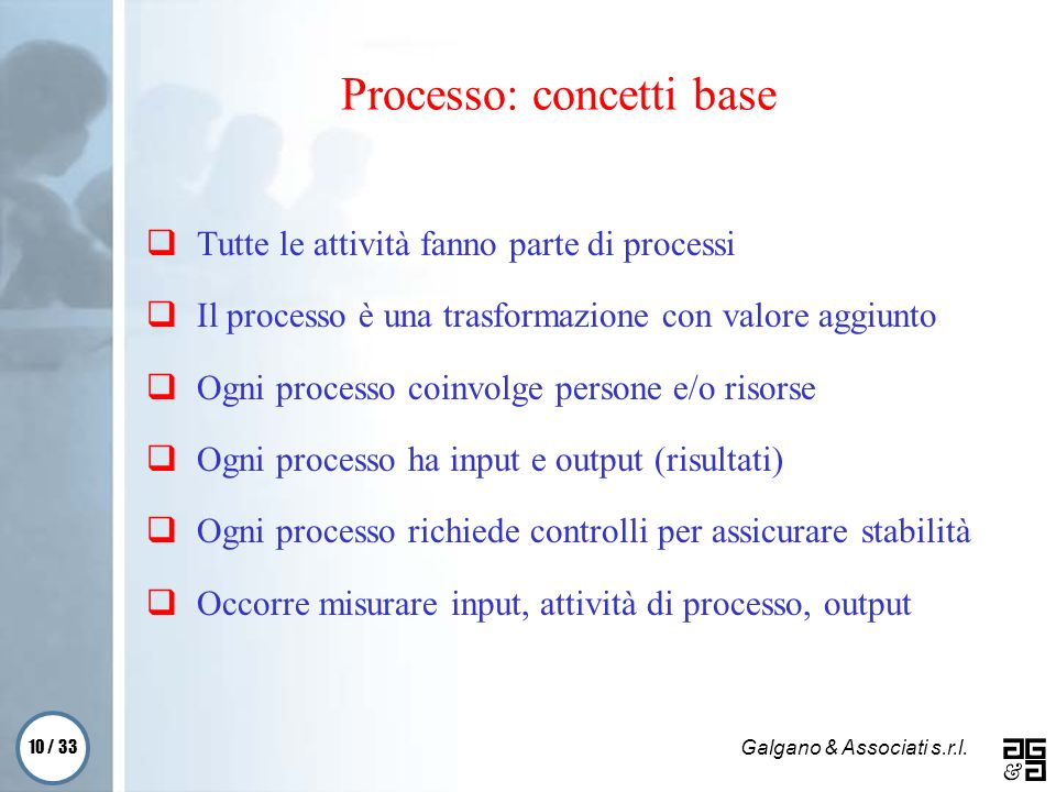 Processo: concetti base