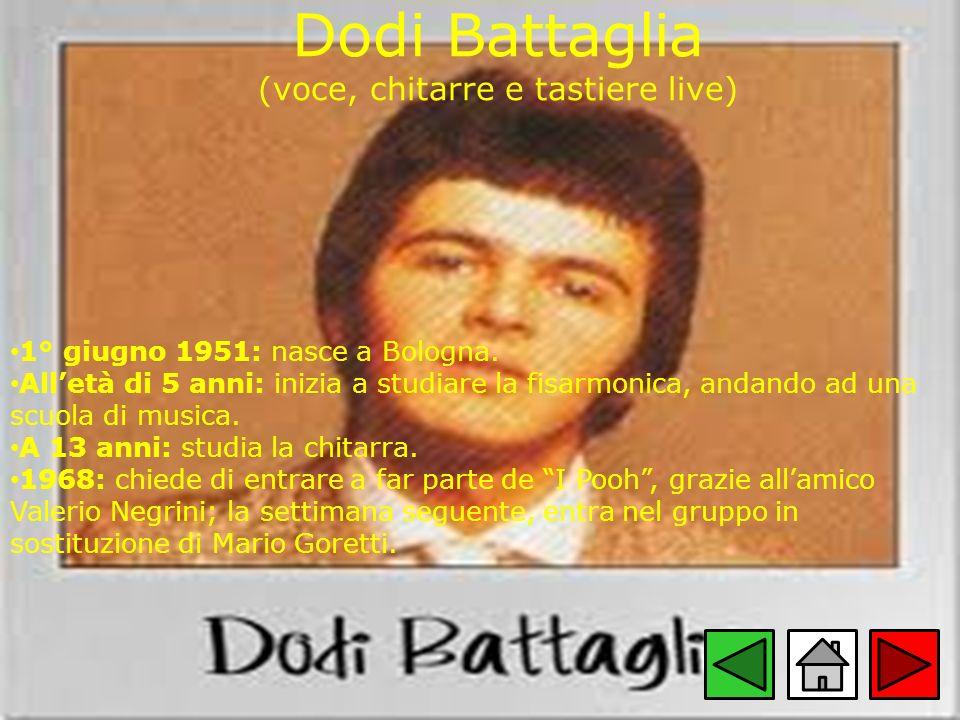 Dodi Battaglia (voce, chitarre e tastiere live)