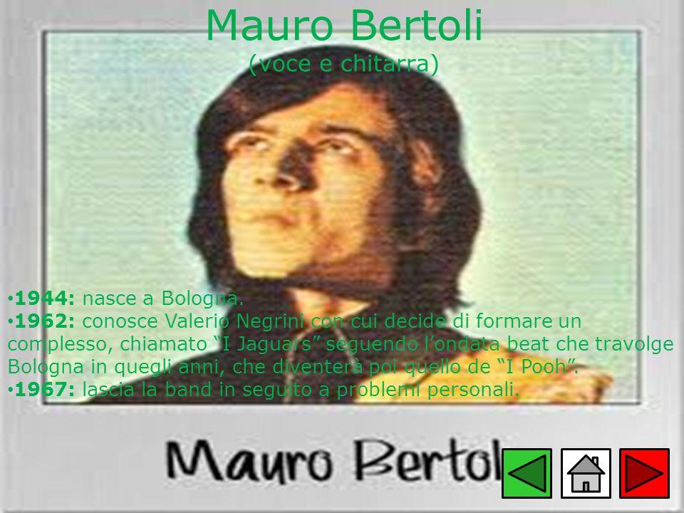 Mauro Bertoli (voce e chitarra)