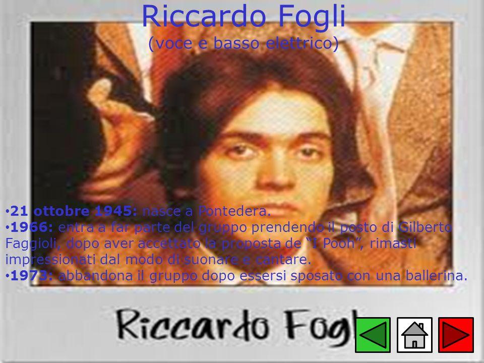 Riccardo Fogli (voce e basso elettrico)