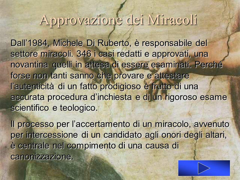 Approvazione dei Miracoli