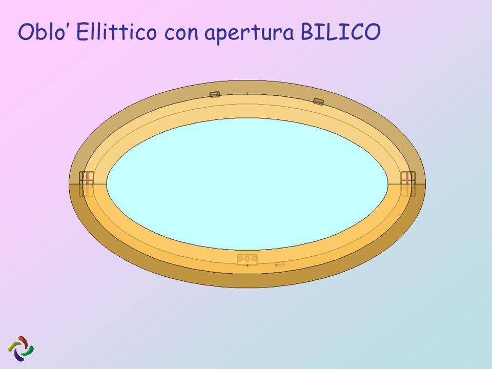 Oblo' Ellittico con apertura BILICO