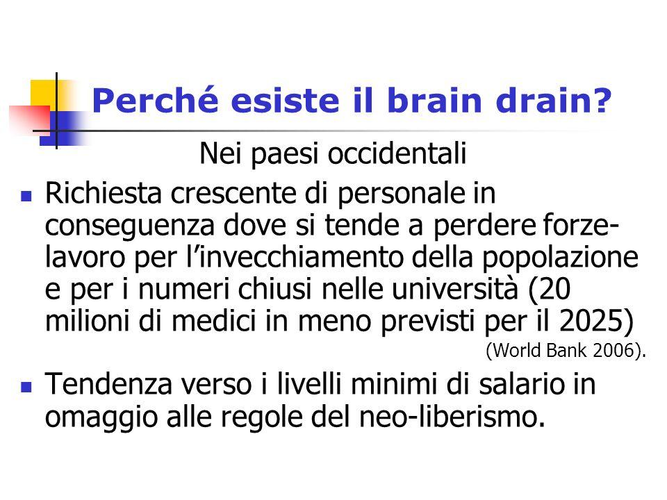 Perché esiste il brain drain