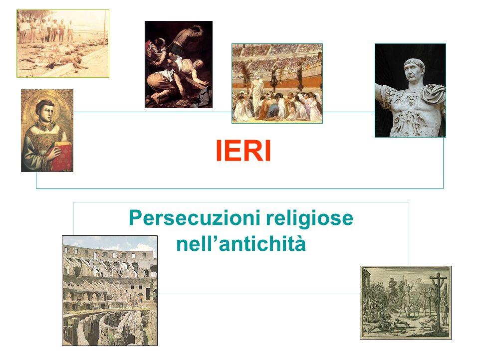 Persecuzioni religiose nell'antichità