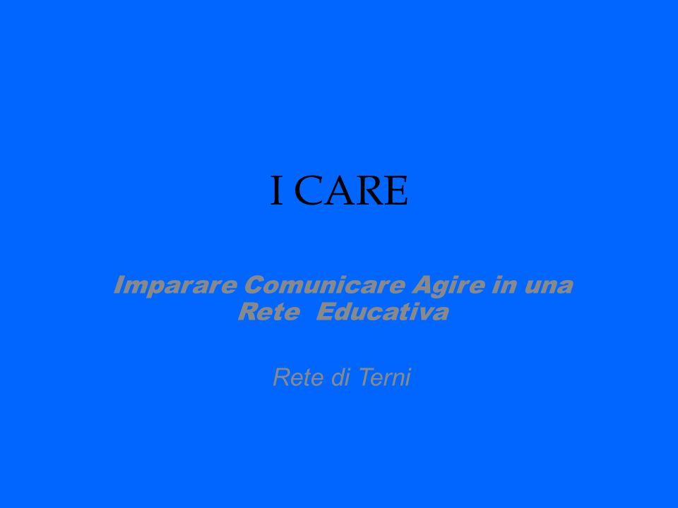 Imparare Comunicare Agire in una Rete Educativa Rete di Terni