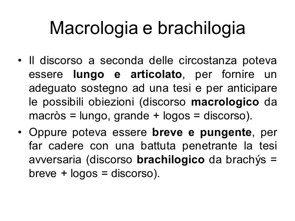 Macrologia e brachilogia
