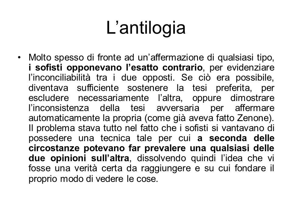 L'antilogia