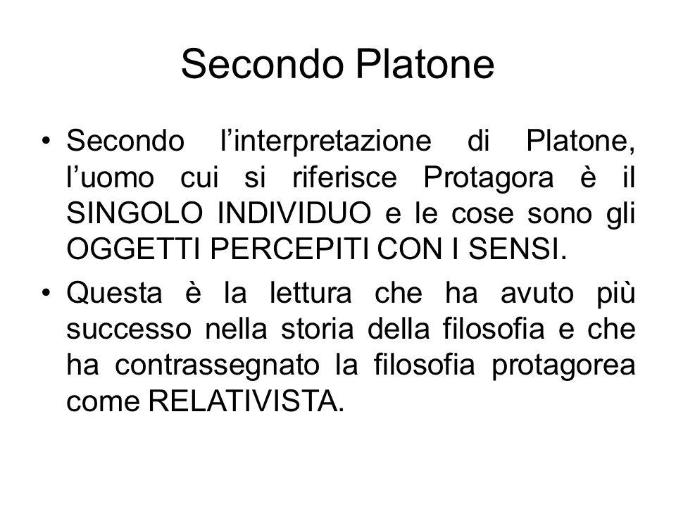 Secondo Platone