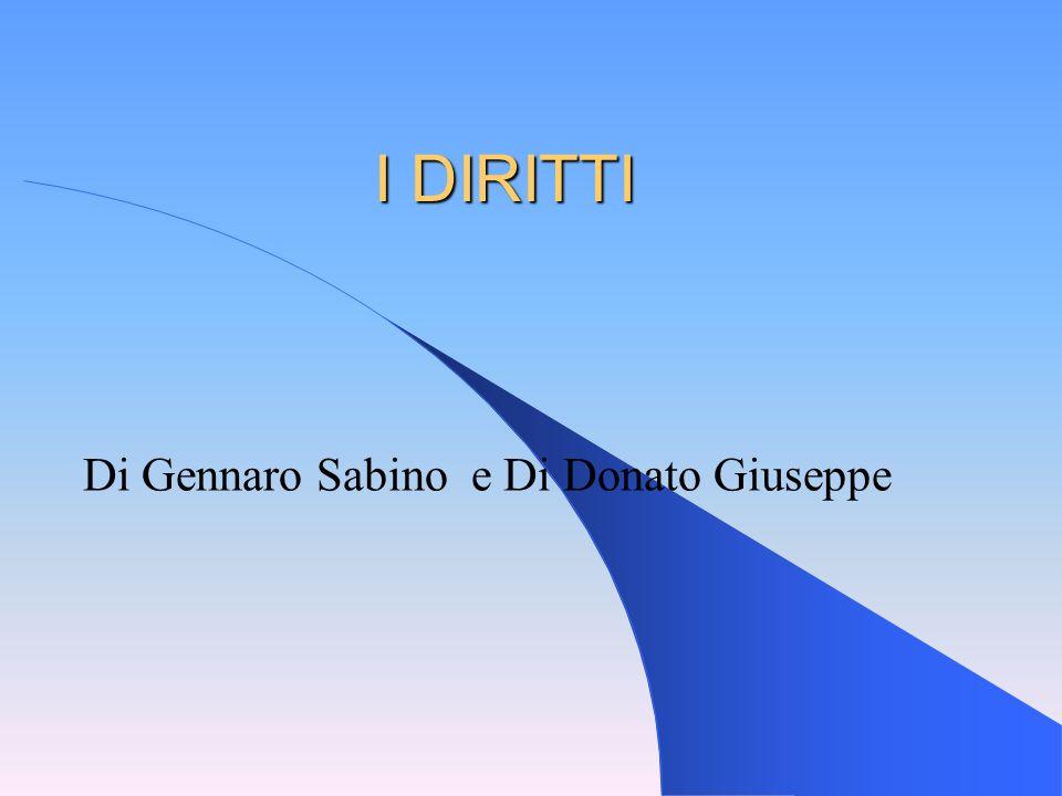 Di Gennaro Sabino e Di Donato Giuseppe