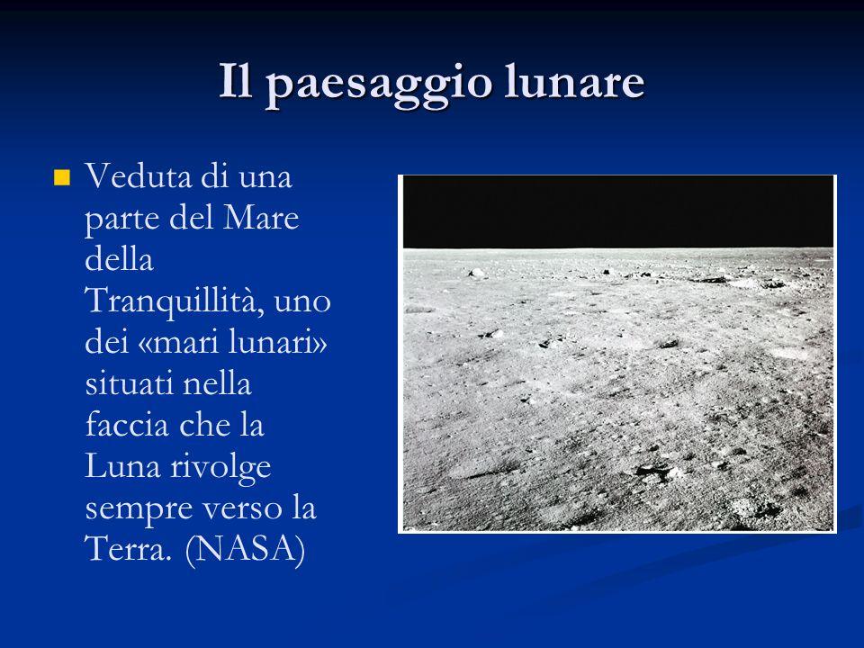 Il paesaggio lunare