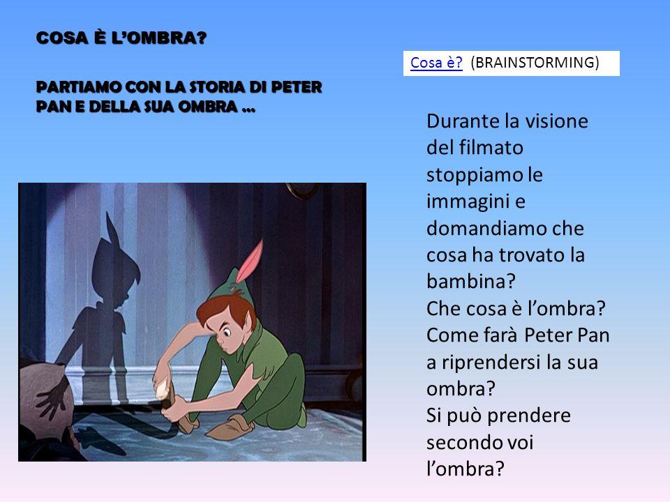 Come farà Peter Pan a riprendersi la sua ombra