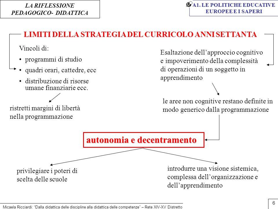 autonomia e decentramento