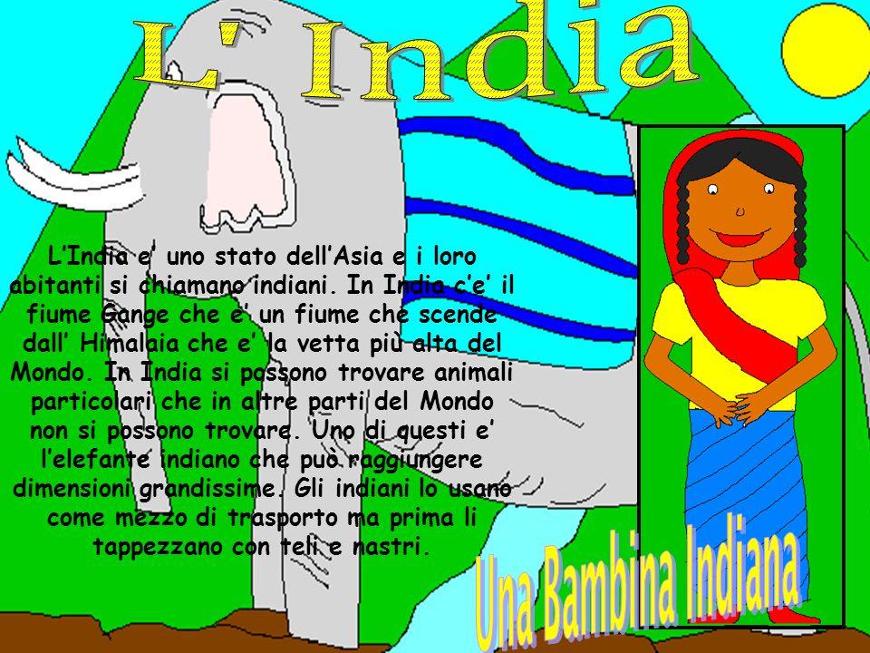L India Una Bambina Indiana