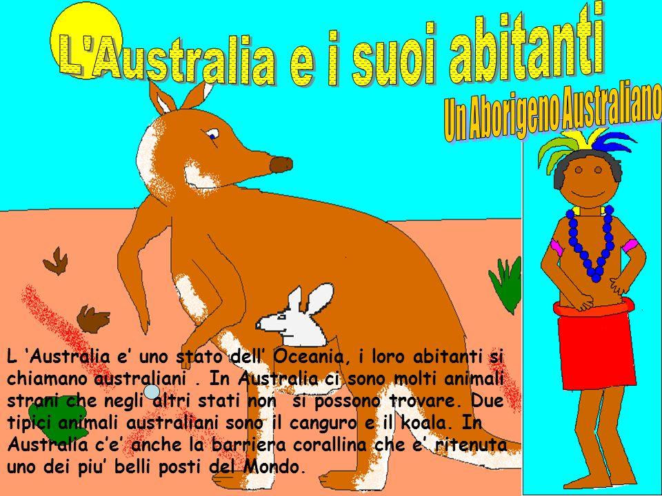 L Australia e i suoi abitanti