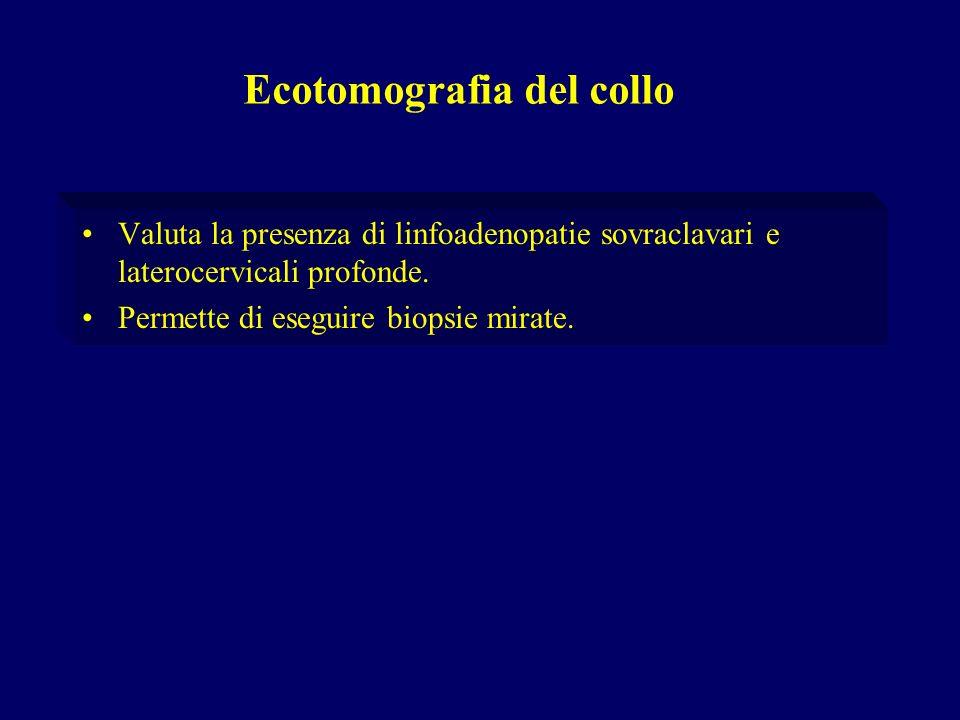 Ecotomografia del collo