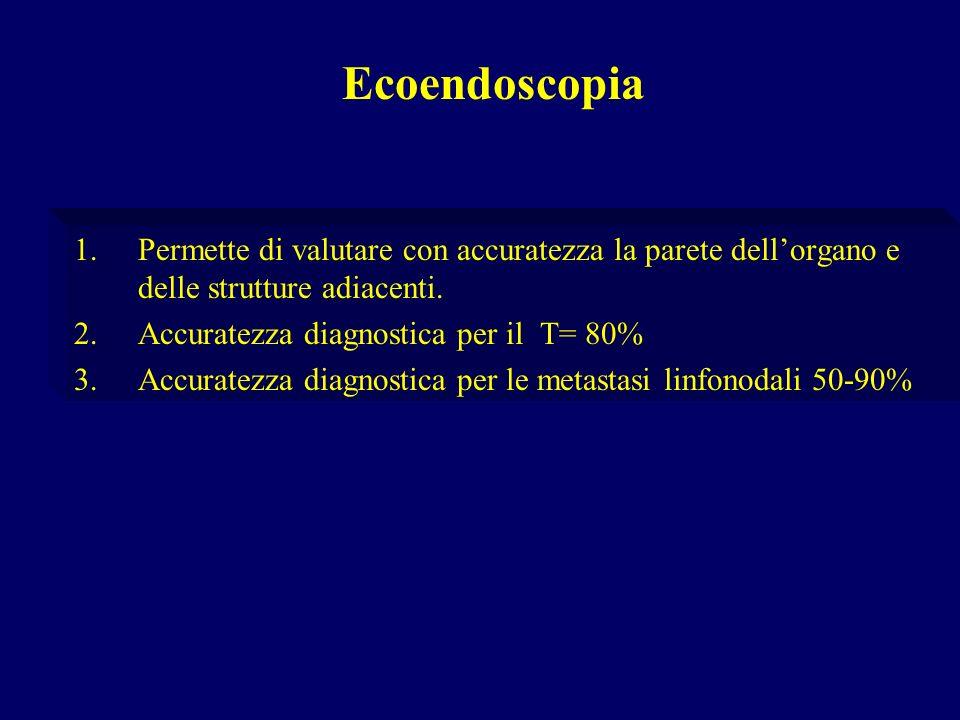 EcoendoscopiaPermette di valutare con accuratezza la parete dell'organo e delle strutture adiacenti.