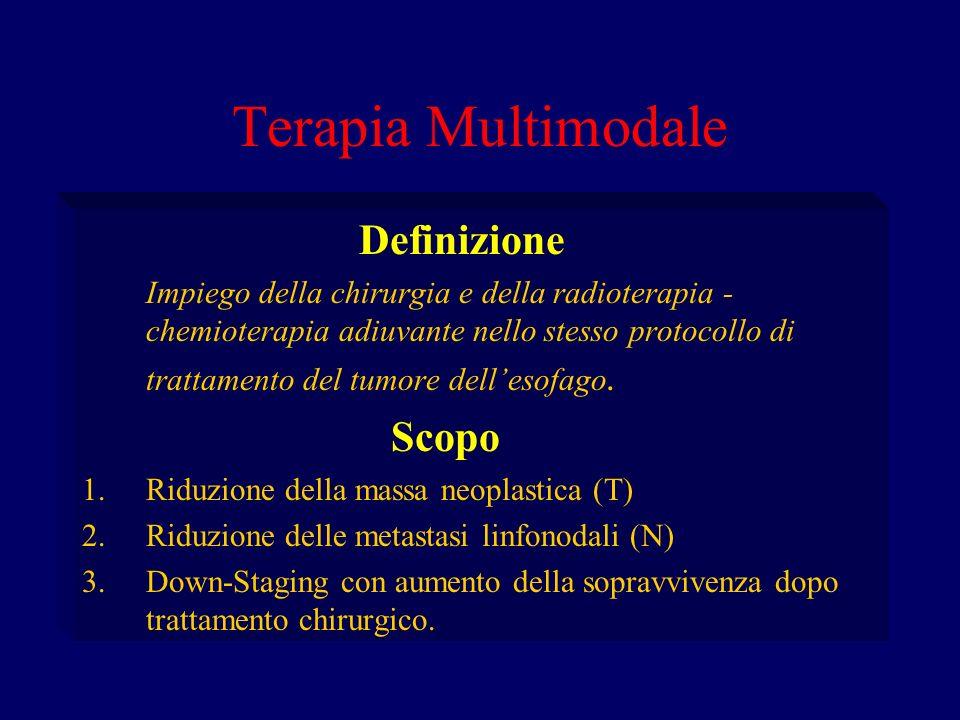 Terapia Multimodale Definizione Scopo