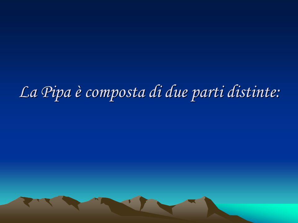 La Pipa è composta di due parti distinte: