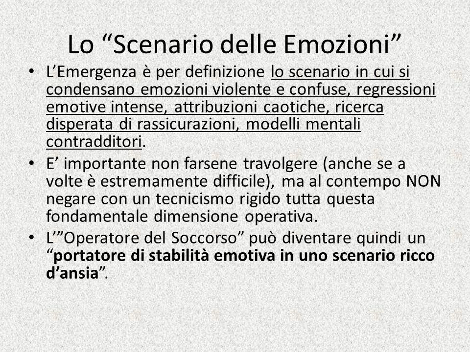 Lo Scenario delle Emozioni