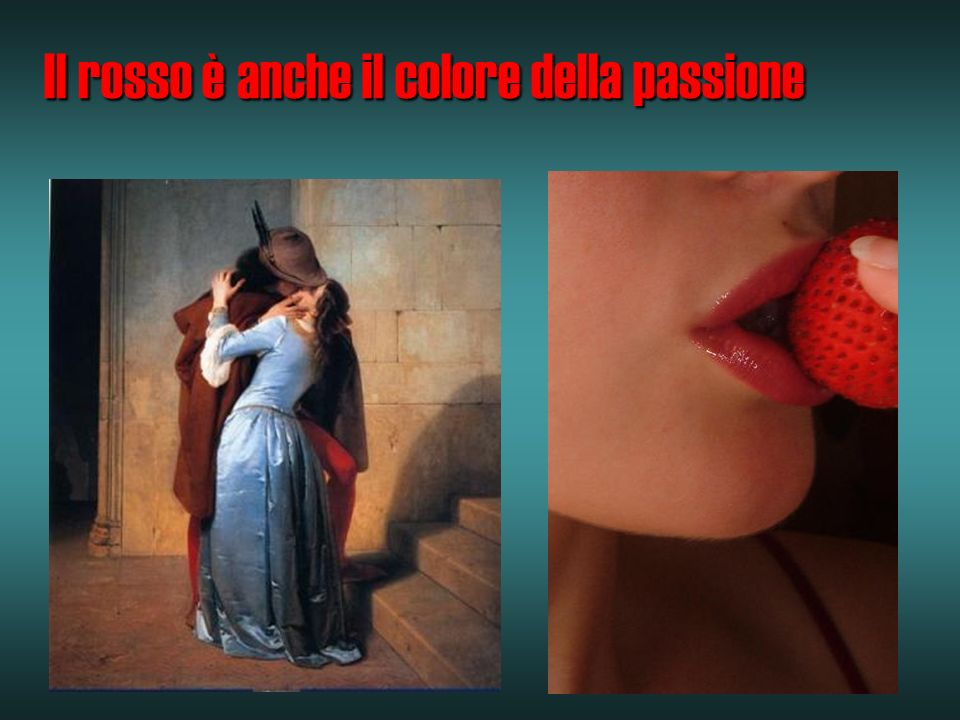 Il rosso è anche il colore della passione