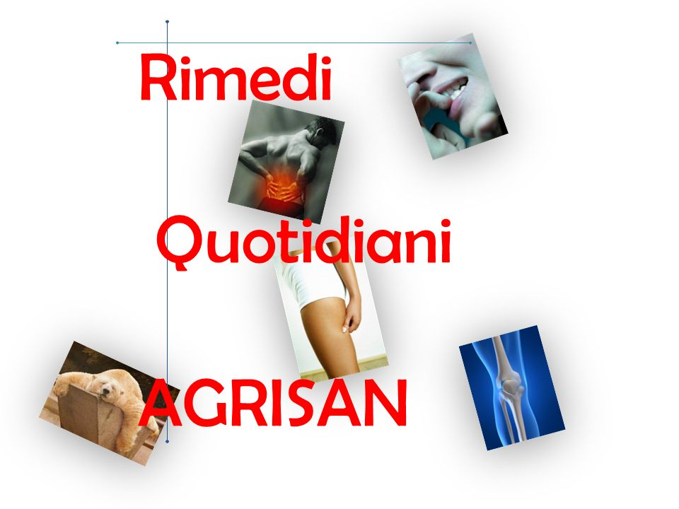 Rimedi Quotidiani AGRISAN