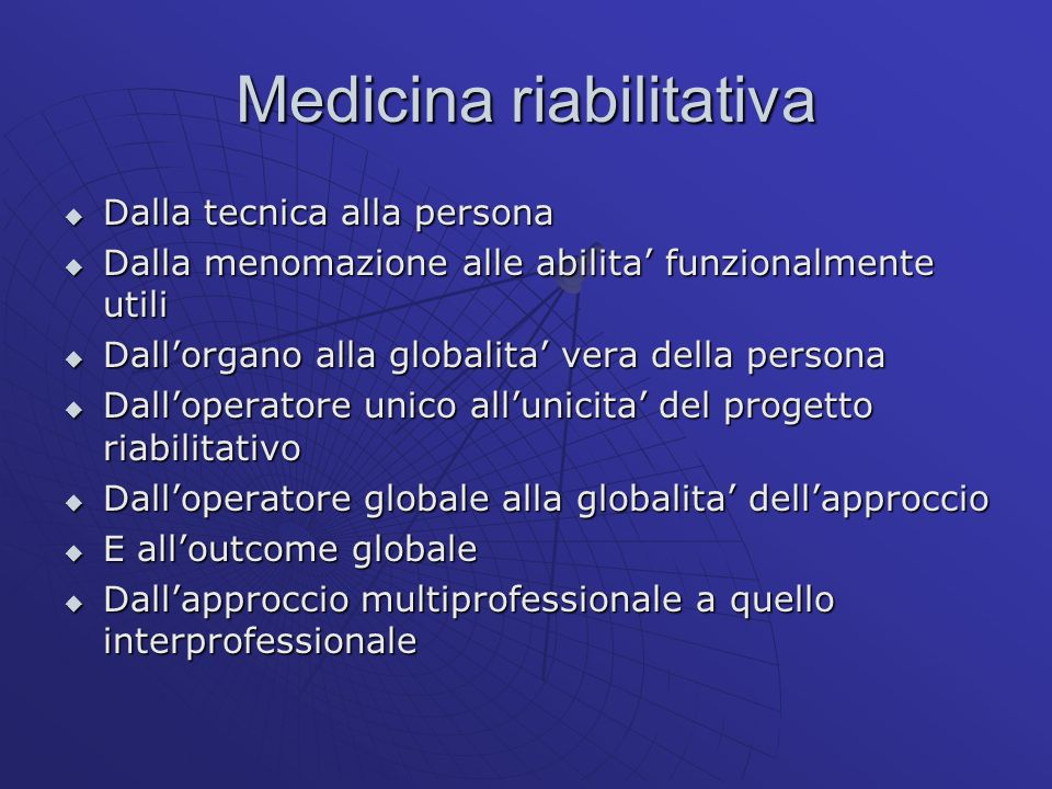 Medicina riabilitativa