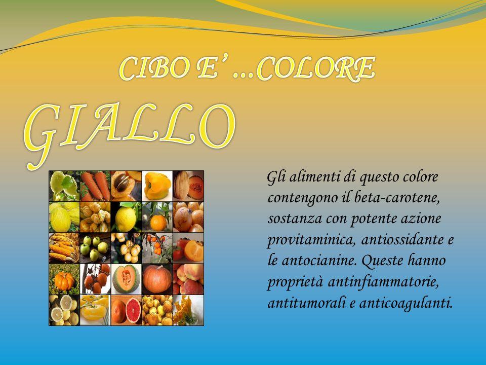CIBO E' ...COLORE GIALLO.
