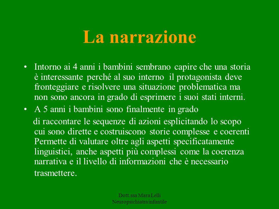 Dott.ssa Mara Lelli Neuropsichiatra infantile