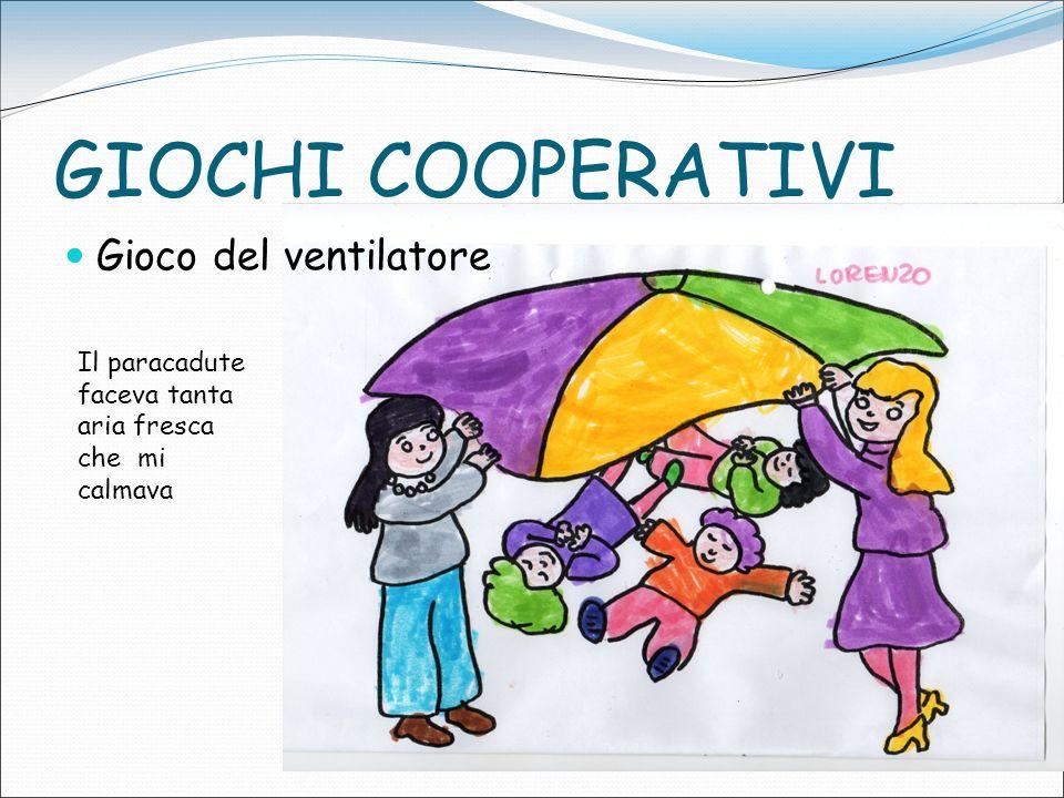 GIOCHI COOPERATIVI Gioco del ventilatore