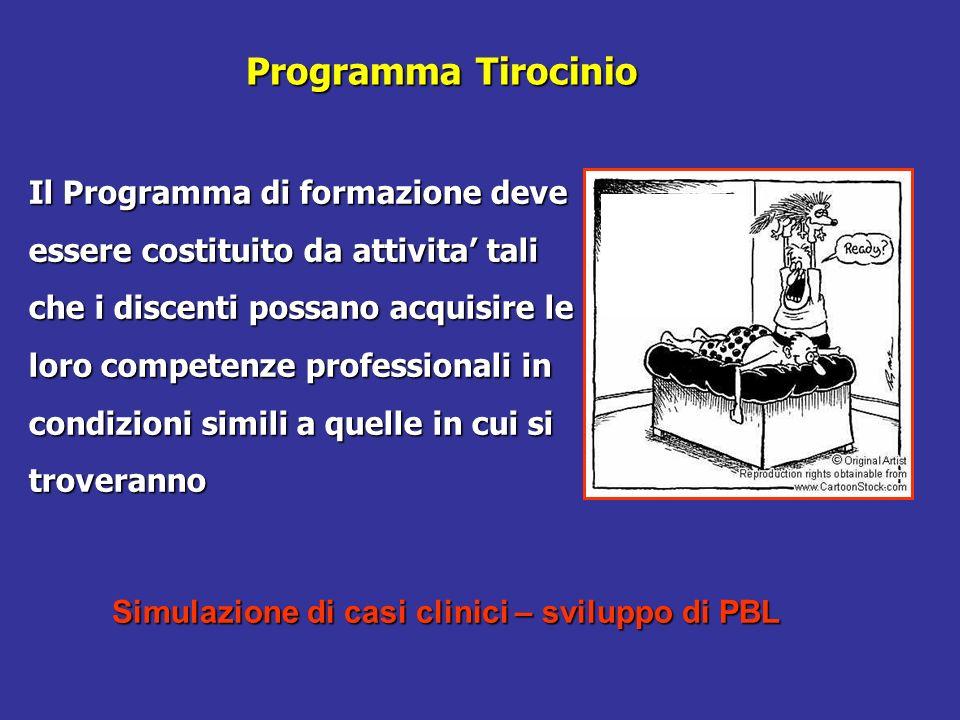 Programma Tirocinio