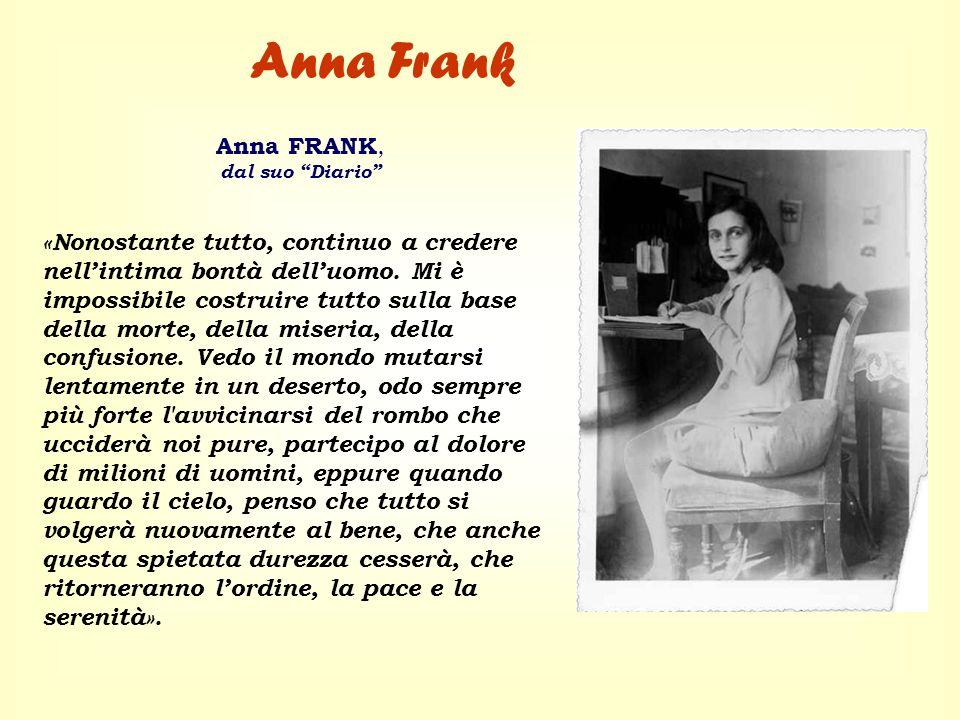 Anna FrankAnna FRANK, dal suo Diario