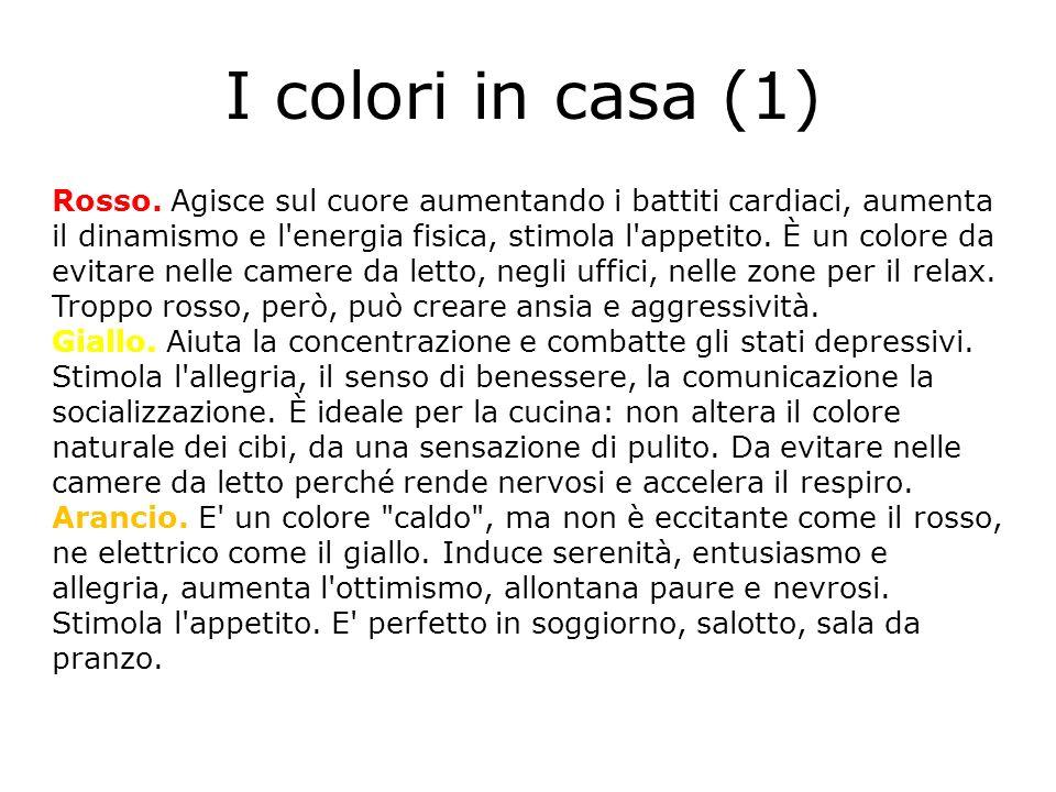I colori in casa (1)