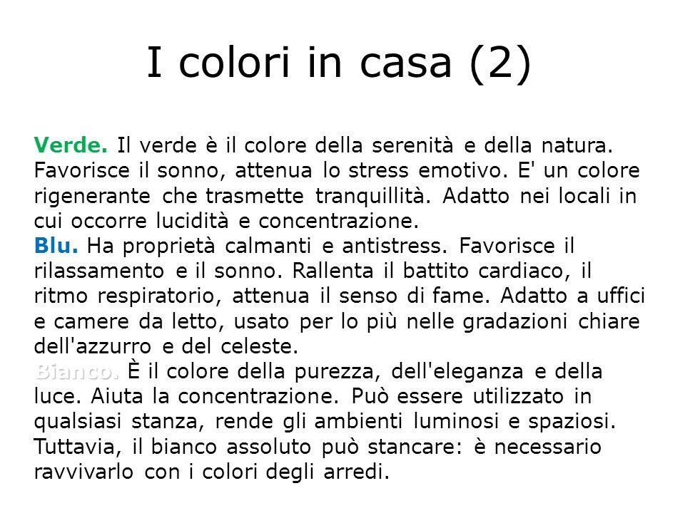 I colori in casa (2)
