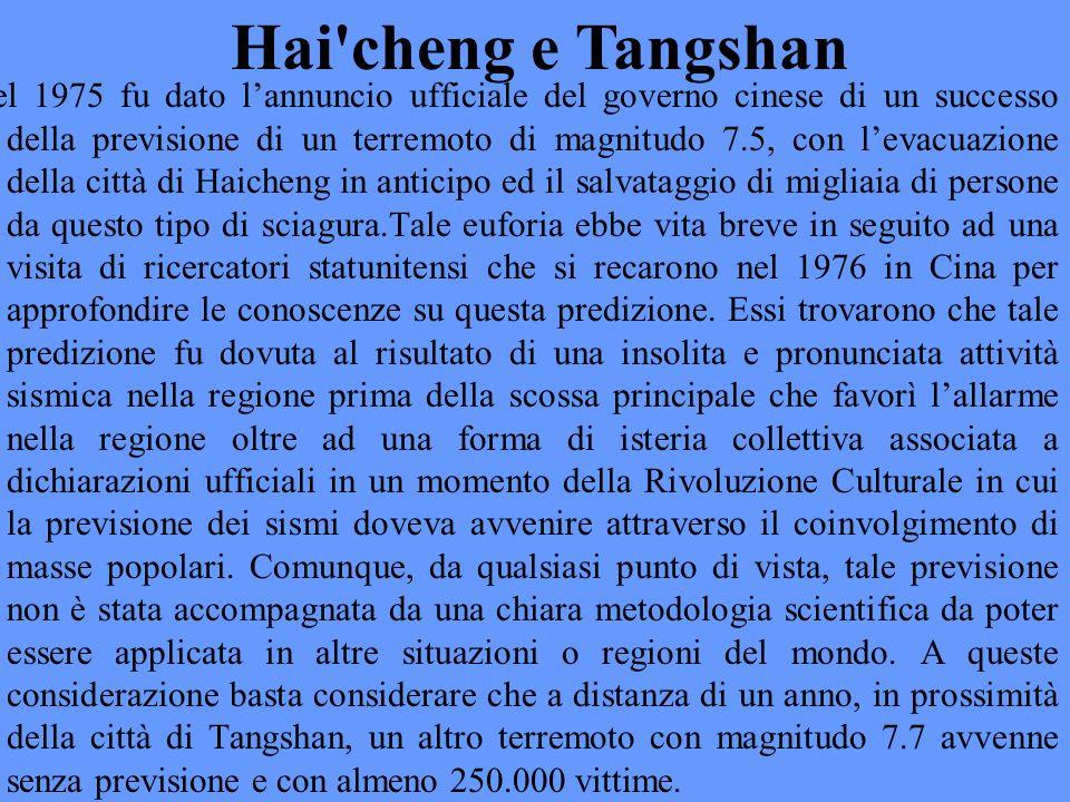Hai cheng e Tangshan