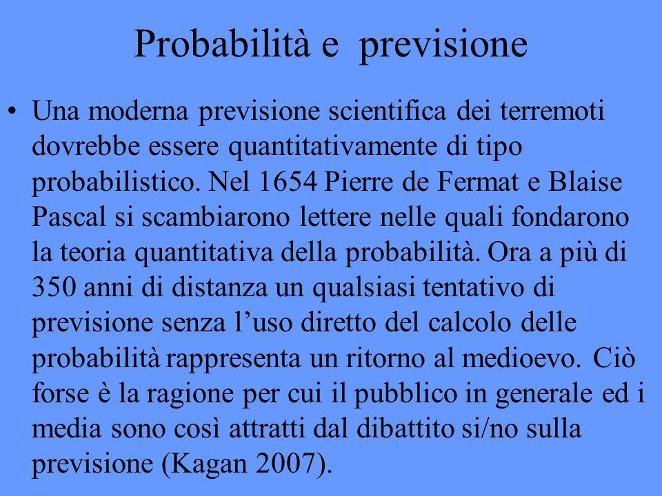 Probabilità e previsione